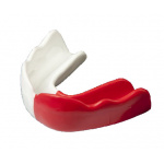 Signature Type 2 TEEN Mouthguard - RED/WHITE Signature Type 2 TEEN Mouthguard - RED/WHITE