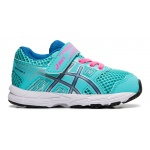 ASICS Contend 5 TS Girls Toddler Shoe - Ice Mint/Deep Sapphire ASICS Contend 5 TS Girls Toddler Shoe - Ice Mint/Deep Sapphire
