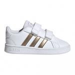 Adidas GRAND COURT I Toddle Shoe - FTWWHT/COPPMT/GLOPNK Adidas GRAND COURT I Toddle Shoe - FTWWHT/COPPMT/GLOPNK