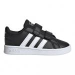 Adidas GRAND COURT I Toddle Shoe - Core Black/FTWR White/FTWR White Adidas GRAND COURT I Toddle Shoe - Core Black/FTWR White/FTWR White