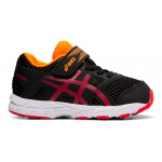 ASICS Contend 5 TS Boys Toddler Shoe - BLACK/SPEED RED ASICS Contend 5 TS Boys Toddler Shoe - BLACK/SPEED RED