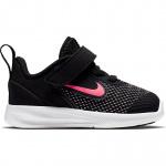 Nike Downshifter 9 Toddler Shoe - Black/Hyper Pink-White Nike Downshifter 9 Toddler Shoe - Black/Hyper Pink-White