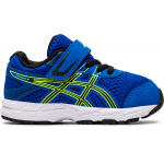 ASICS Contend 6 TS Toddler Shoe - Tuna Blue/Black ASICS Contend 6 TS Toddler Shoe - Tuna Blue/Black