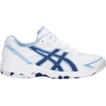Asics GEL-Shepparton 2 D WIDE Women's Lawn Bowl Shoe - WHITE/BLUE PRINT Asics GEL-Shepparton 2 D WIDE Women's Lawn Bowl Shoe - WHITE/BLUE PRINT