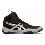 ASICS Snapdown 2 WIDE Wrestling Shoe - BLACK/SILVER ASICS Snapdown 2 WIDE Wrestling Shoe - BLACK/SILVER