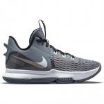 Nike Lebron Witness 5 Adults Basketball Shoe - Cool Grey/White-Black Nike Lebron Witness 5 Adults Basketball Shoe - Cool Grey/White-Black