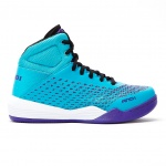 AND1 Ascender MID Women's Basketball Shoe - Bluebird/Heliotrope