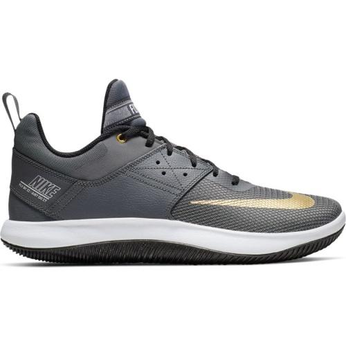 7eecb04606e1 Nike Fly.By Low II Adults Basketball Shoe - DARK GREY METALLIC GOLD ...