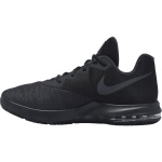 Image 2: Nike Air Max Infuriate Low Adults Basketball Shoe - BLACK/MTLC DARK GREY-ANTHRACITE