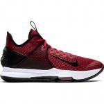 Nike Lebron Witness IV Adults Basketball Shoe -Black/Gym Red-University Red Nike Lebron Witness IV Adults Basketball Shoe -Black/Gym Red-University Red