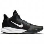 Nike Precision III Adults Basketball Shoe - BLACK/WHITE Nike Precision III Adults Basketball Shoe - BLACK/WHITE