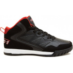 AND1 Baseline Adults Basketball Shoe - Black/Fiery Red AND1 Baseline Adults Basketball Shoe - Black/Fiery Red