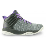 AND1 Spin Move Kids Basketball Shoe - Nimbus Cloud/Black/Purple AND1 Spin Move Kids Basketball Shoe - Nimbus Cloud/Black/Purple