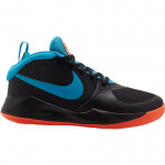 Nike Team Hustle D 9 GS Kids Basketball Shoe - BLACK/LASER BLUE-HYPER CRIMSON Nike Team Hustle D 9 GS Kids Basketball Shoe - BLACK/LASER BLUE-HYPER CRIMSON