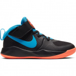 Nike Team Hustle D 9 PS Kids Basketball Shoe -  BLACK/LASER BLUE-HYPER CRIMSON - JAN 2020 Nike Team Hustle D 9 PS Kids Basketball Shoe -  BLACK/LASER BLUE-HYPER CRIMSON - JAN 2020
