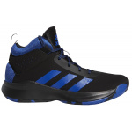 Adidas Cross Em Up 5 Kids Basketball Shoe - Core Black/Collegiate Royal/Core Black Adidas Cross Em Up 5 Kids Basketball Shoe - Core Black/Collegiate Royal/Core Black