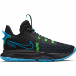 Nike Lebron Witness V Kids Basketball Shoe - BLACK/LAGOON PULSE-GREEN STRIKE Nike Lebron Witness V Kids Basketball Shoe - BLACK/LAGOON PULSE-GREEN STRIKE