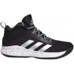 Adidas Cross Em Up 5 Kids Basketball Shoe - Core Black/Silver Met./FTWR White Adidas Cross Em Up 5 Kids Basketball Shoe - Core Black/Silver Met./FTWR White