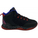 AND1 Blaze Kids Basketball Shoe - Black/Red AND1 Blaze Kids Basketball Shoe - Black/Red