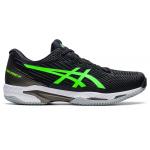 ASICS GEL-Solution Speed FF2 Mens Tennis Shoe - Black/Gren Gecko ASICS GEL-Solution Speed FF2 Mens Tennis Shoe - Black/Gren Gecko