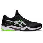 ASICS Court FF 2 D Mens Tennis Shoe - Black/Green Gecko ASICS Court FF 2 D Mens Tennis Shoe - Black/Green Gecko
