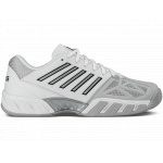 K-Swiss Bigshot Light 3 Men's Tennis Shoe - WHITE/SILVER K-Swiss Bigshot Light 3 Men's Tennis Shoe - WHITE/SILVER