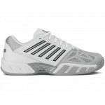 K-SWISS Bigshot Light 3 Men's Tennis Shoe - WHITE/SILVER K-SWISS Bigshot Light 3 Men's Tennis Shoe - WHITE/SILVER
