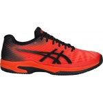 ASICS GEL-Solution Speed FF Men's Tennis Shoe - Cherry Tomato/Black - JAN 19 ASICS GEL-Solution Speed FF Men's Tennis Shoe - Cherry Tomato/Black - JAN 19