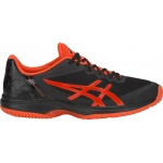 ASICS GEL-Court Speed Men's Tennis Shoe - BLACK/CHERRY TOMATO ASICS GEL-Court Speed Men's Tennis Shoe - BLACK/CHERRY TOMATO