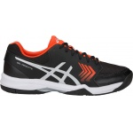 ASICS GEL-Dedicate 5 HC Men's Tennis Shoe - BLACK/SILVER ASICS GEL-Dedicate 5 HC Men's Tennis Shoe - BLACK/SILVER