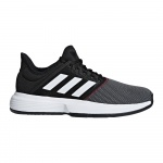 Adidas GameCourt Men's Tennis Shoe - core black/ftwr white/shock red Adidas GameCourt Men's Tennis Shoe - core black/ftwr white/shock red