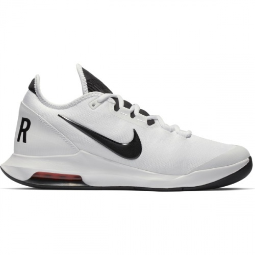 Nike AIR MAX WILDCARD Men's Tennis Shoe - WHITE/BLACK