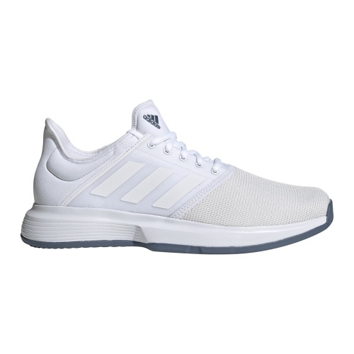 Adidas GameCourt Men's Tennis Shoe - FTWR White/FTWR White/Tech Ink
