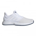 Adidas GameCourt Men's Tennis Shoe - FTWR White/FTWR White/Tech Ink Adidas GameCourt Men's Tennis Shoe - FTWR White/FTWR White/Tech Ink