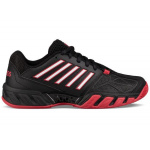 K-SWISS Bigshot Light 3 Men's Tennis Shoe - BLACK/RED K-SWISS Bigshot Light 3 Men's Tennis Shoe - BLACK/RED