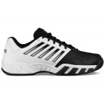 K-SWISS Bigshot Light 3 Men's Tennis Shoe - WHITE/BLACK K-SWISS Bigshot Light 3 Men's Tennis Shoe - WHITE/BLACK