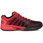 K-SWISS Hypercourt Express HB Men's Tennis Shoe - RED/BLACK K-SWISS Hypercourt Express HB Men's Tennis Shoe - RED/BLACK