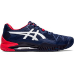 ASICS GEL-Resolution 8 Mens Tennis Shoe - Peacoat/White ASICS GEL-Resolution 8 Mens Tennis Shoe - Peacoat/White