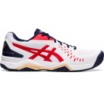 ASICS GEL-Challenger 12 Mens Tennis Shoe - WHITE/CLASSIC RED ASICS GEL-Challenger 12 Mens Tennis Shoe - WHITE/CLASSIC RED
