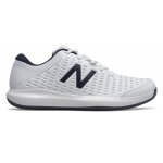 New Balance 696v4 2E WIDE Mens Tennis Shoe - White/Pigment New Balance 696v4 2E WIDE Mens Tennis Shoe - White/Pigment