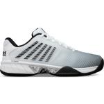 K-Swiss Hypercourt Express 2 Mens Tennis Shoe - White/High-Rise/Black K-Swiss Hypercourt Express 2 Mens Tennis Shoe - White/High-Rise/Black