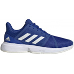 Adidas CourtJam Bounce Mens Tennis Shoe - Team Royal Blue/Off White/FTWR White Adidas CourtJam Bounce Mens Tennis Shoe - Team Royal Blue/Off White/FTWR White
