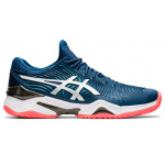ASICS Court FF Men's Tennis Shoe - Mako Blue/White ASICS Court FF Men's Tennis Shoe - Mako Blue/White