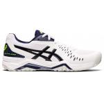 ASICS GEL-Challenger 12 Mens Tennis Shoe - WHITE/PEACOAT ASICS GEL-Challenger 12 Mens Tennis Shoe - WHITE/PEACOAT