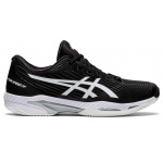 ASICS GEL-Solution Speed FF2 Mens Tennis Shoe - Black/White ASICS GEL-Solution Speed FF2 Mens Tennis Shoe - Black/White