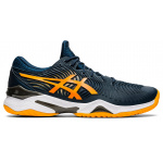 ASICS Court FF Mens Tennis Shoe - French Blue/Amber ASICS Court FF Mens Tennis Shoe - French Blue/Amber