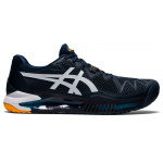 ASICS GEL-Resolution 8 Mens Tennis Shoe - French Blue/White ASICS GEL-Resolution 8 Mens Tennis Shoe - French Blue/White