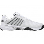 K-Swiss Hypercourt Express AC Mens Tennis Shoe - White/Black K-Swiss Hypercourt Express AC Mens Tennis Shoe - White/Black