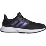 Adidas GameCourt Mens Tennis Shoe - Core Black/Core Black/FTWR White Adidas GameCourt Mens Tennis Shoe - Core Black/Core Black/FTWR White