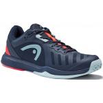 HEAD Sprint Team 3.0 Mens Tennius Shoe - Dress Blue/Neon Red HEAD Sprint Team 3.0 Mens Tennius Shoe - Dress Blue/Neon Red